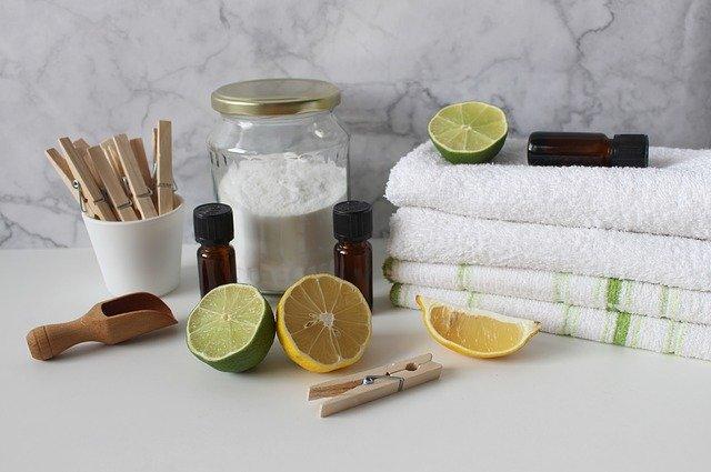 citrusy u ručníků