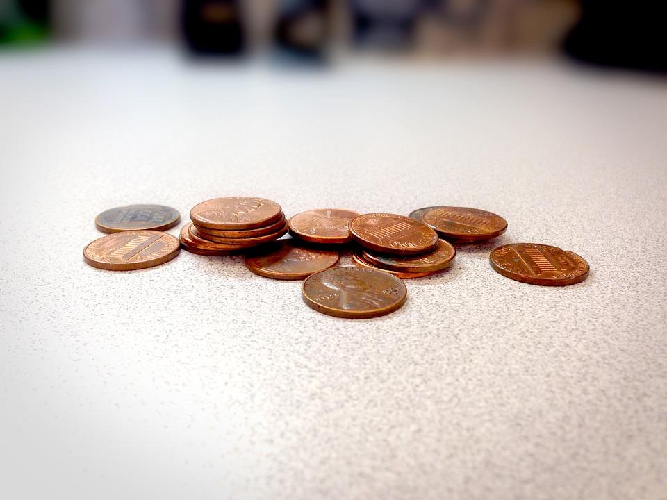 několik centů